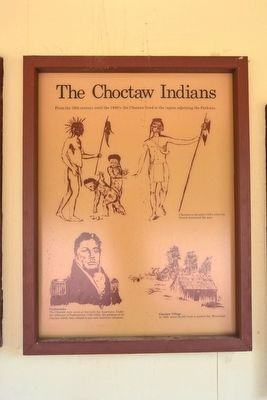 The Choctaw Indians Marker image. Click for full size.