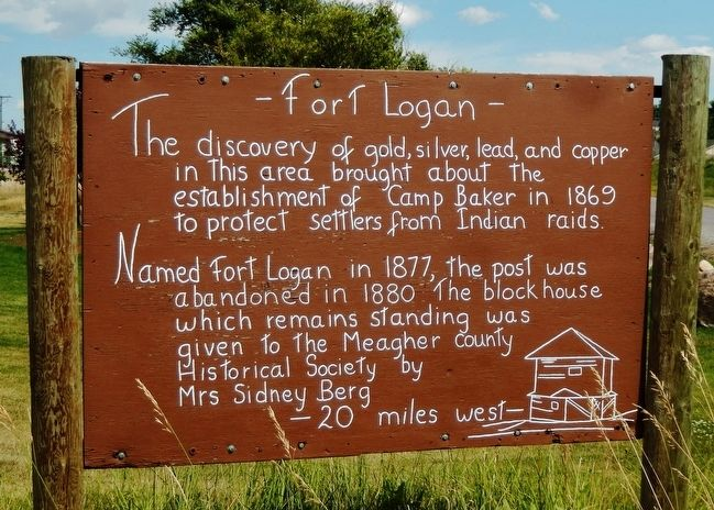 Fort Logan Marker image. Click for full size.