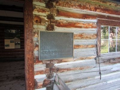 The Maud Noble Cabin Marker image. Click for full size.