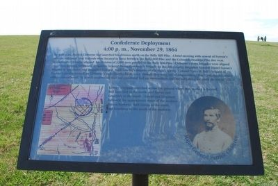 Confederate Deployment Marker image. Click for full size.