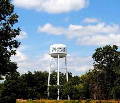 Harlem Ga. Water Tower Photo, Click for full size