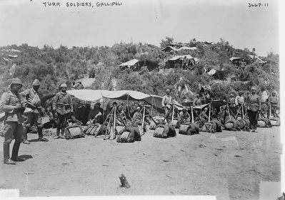 <i>Turk Soldiers, Gallipoli</i> image. Click for full size.