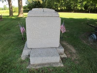 Zanesfield Veterans Memorial Marker image. Click for full size.