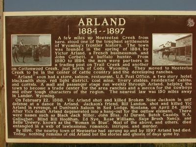 Arland Marker image. Click for full size.