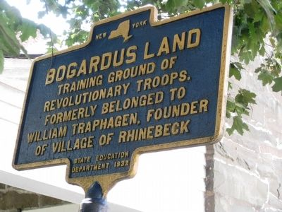 Bogardus Land Marker image. Click for full size.