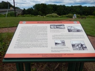 Rotary Centennial Park Marker image. Click for full size.