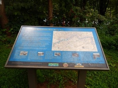 West Branch Susquehanna River Water Trail Marker image. Click for full size.