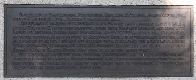 33rd Ohio Infantry Marker image. Click for full size.