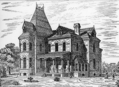 Amzi Barber's House, 531 Sixth Street, NW. image. Click for full size.