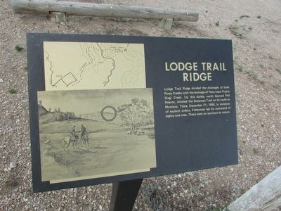 Lodge Trail Ridge Marker image. Click for full size.