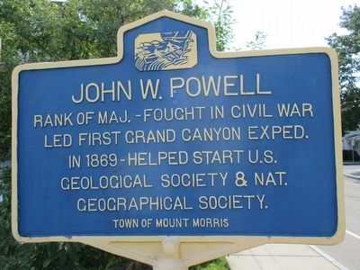 John W. Powell Marker image. Click for full size.