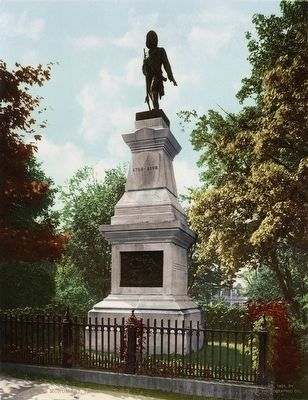 <i>André Monument, Tarrytown</i> image. Click for full size.