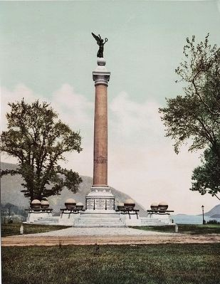 U.S. Military Battle Monument image. Click for full size.