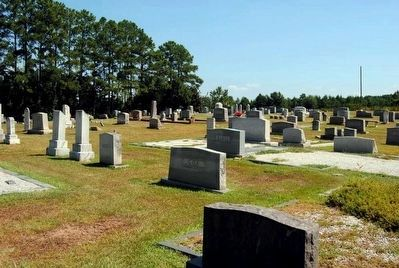 Damascus Baptist Church Graveyard image. Click for full size.