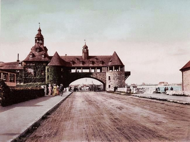 <i>The Casino, Narragansett Pier</i> image. Click for full size.