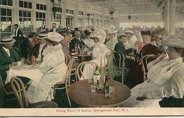 <i>Dining Room of Casino, Narragansett Pier, R.I.</i> image. Click for full size.