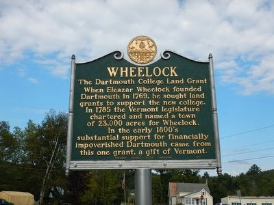 Wheelock Marker image. Click for full size.