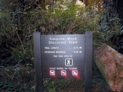 Simpson-Reed Discovery Trail image. Click for full size.