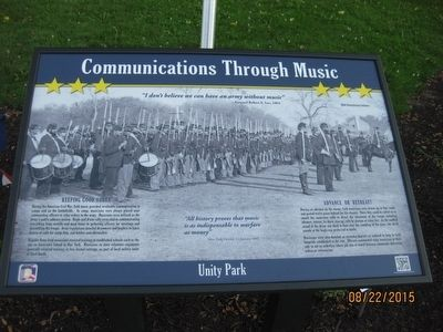 Communications Through Music Marker image. Click for full size.