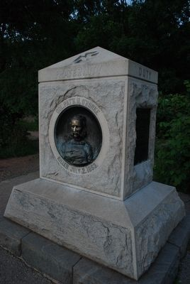 Col. Patrick O'Rorke Monument image. Click for full size.
