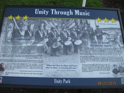 Unity Through Music Marker image. Click for full size.