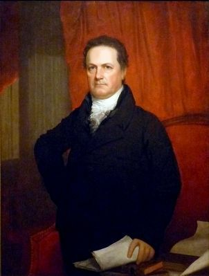 DeWitt Clinton image. Click for full size.