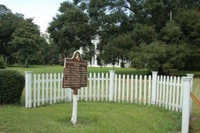 Madewood Plantation House Marker image. Click for full size.