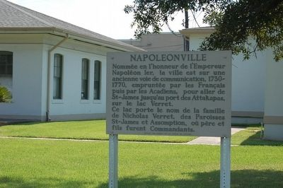 Napoleonville Marker image. Click for full size.
