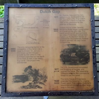 Dutch Gap Marker image. Click for full size.