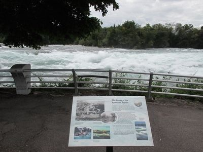 Marker & American Rapids image. Click for full size.