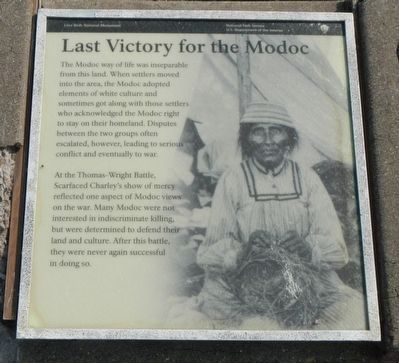 Last Victor for the Modoc Marker image. Click for full size.