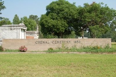 Chenal Cemetery image. Click for full size.