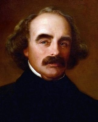Nathaniel Hawthorne image. Click for full size.