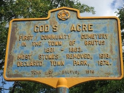 God's Acre Marker image. Click for full size.