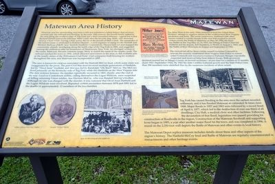 Matewan Area History Marker image. Click for full size.