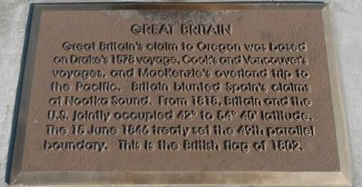 Great Britain Marker image. Click for full size.