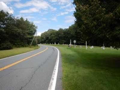 Wideview of Bayley-Hazen Military Road Marker image. Click for full size.