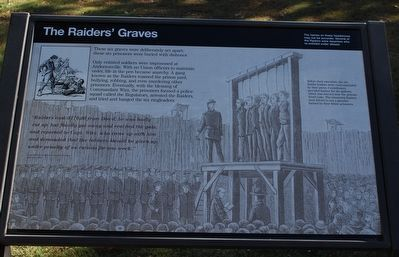 The Raiders' Graves Marker image. Click for full size.