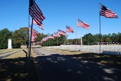 Andersonville National Cemetery image. Click for full size.