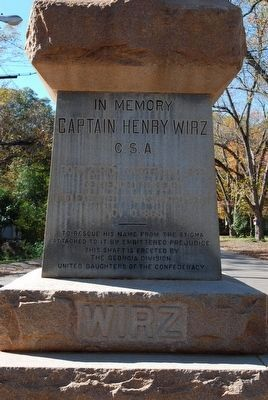 Wirz Monument image. Click for full size.