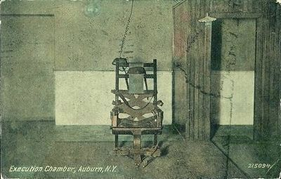 <i>Execution Chamber, Auburn, N.Y.</i> image. Click for full size.