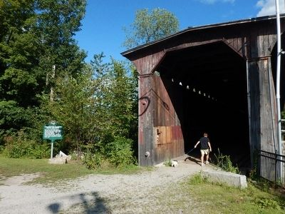 Wideview of Contoocook Railroad Bridge and Depot Marker image. Click for full size.