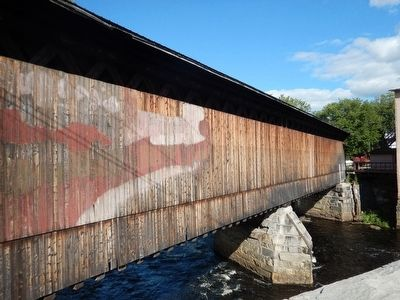 Contoocook Railroad Covered Bridge image. Click for full size.