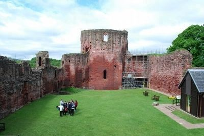 Bothwell Castle Interior image. Click for full size.