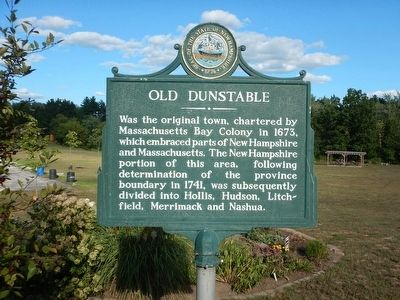 Old Dunstable Marker image. Click for full size.