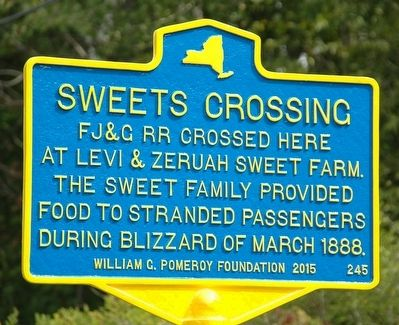 Sweets Crossing Marker image. Click for full size.
