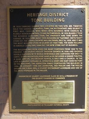 Tone Building Marker image. Click for full size.