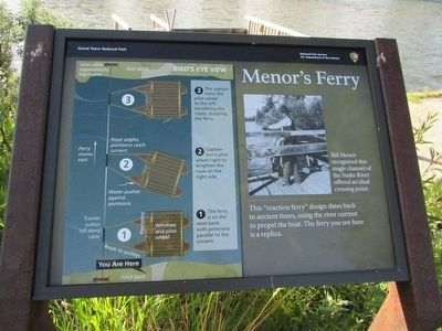 Menor's Ferry Marker image. Click for full size.