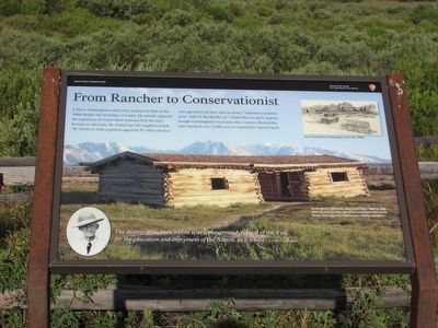 From Rancher to Conservationist Marker image. Click for full size.