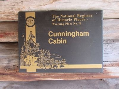 Cunningham Cabin Marker image. Click for full size.